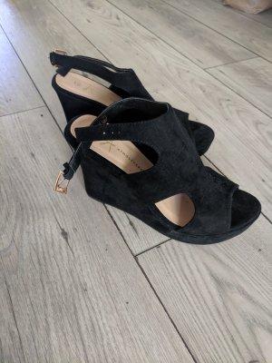 Atmosphere (Primark) Sandaletten mit Keilabsatz Fb. schwarz Gr. 40/41