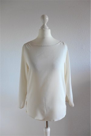 Atmosphere Shirt Oberteil Bluse weiß offwhite Gr. 34