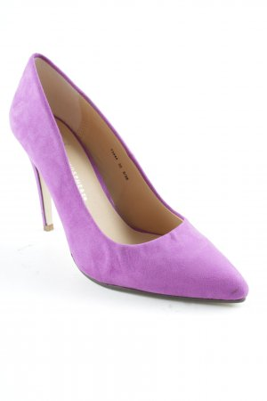 Atmosphere Pointed Toe Pumps lilac casual look