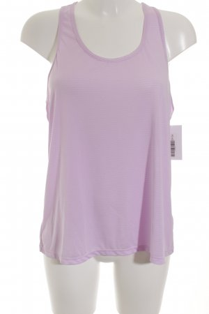 Atmosphere Sportshirt rosa Streifenmuster sportlicher Stil