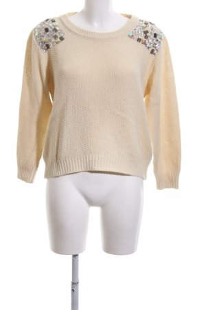 Atmosphere Knitted Sweater natural white casual look