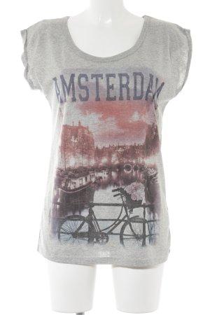 Atmosphere T-Shirt Motivdruck Street-Fashion-Look