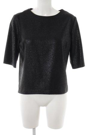 Atmosphere T-Shirt schwarz-silberfarben Elegant
