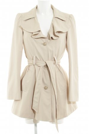 Atmosphere Trench Coat cream elegant