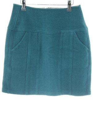 Ato-Berlin Flared Skirt cadet blue casual look