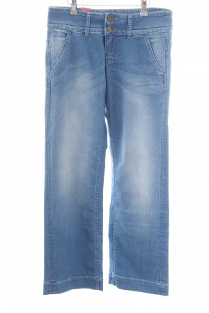 Ato-Berlin Denim Flares blue casual look