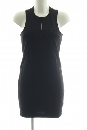 Atos Lombardini Bleistiftkleid schwarz Business-Look