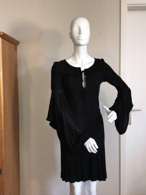 Atos Lombardini it Designerkleid Kleid 40 schwarz