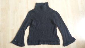Atos Lombardini Pull noir tissu mixte