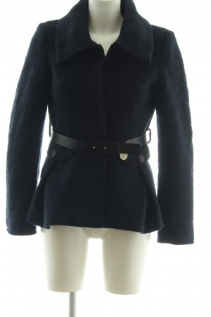 Atos Lombardini Wool Coat black casual look