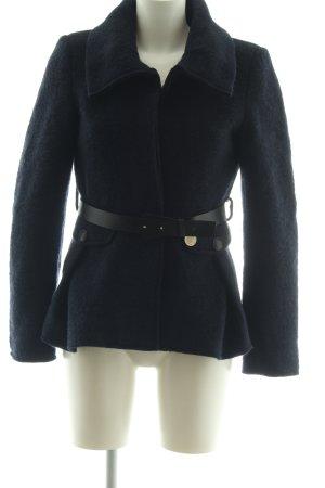 Atos Lombardini Abrigo de lana negro look casual