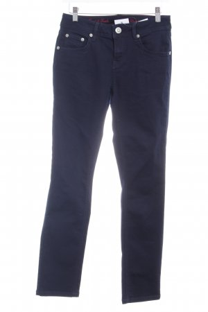 ATT Jeans Röhrenjeans dunkelblau Casual-Look