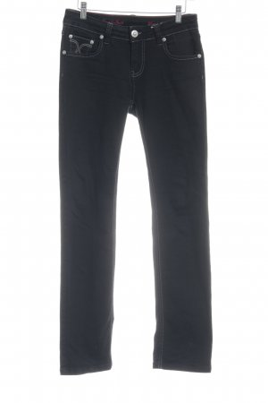 ATT Jeans Stretch Jeans black casual look