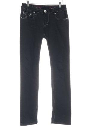 ATT Jeans Jeans elasticizzati nero stile casual