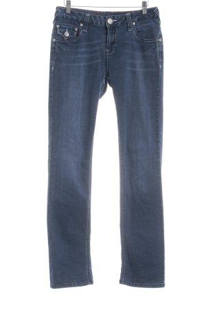 ATT Jeans Stretch Jeans steel blue casual look