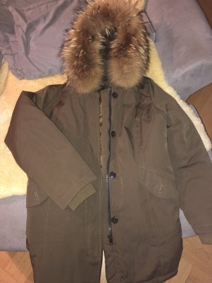 Attentif Winter Jacket olive green