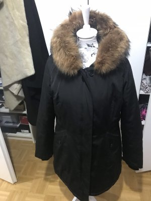 Attentif Paris echtfell Jacke Parka Winter Jacke 44