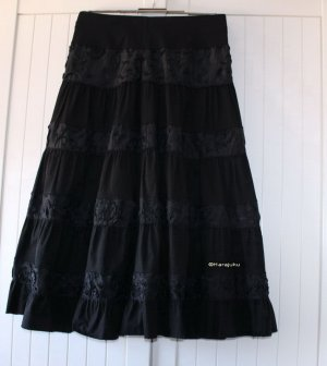 Attentif Skirt black