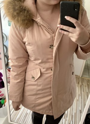 Attentif Winter Jacket pink-light pink
