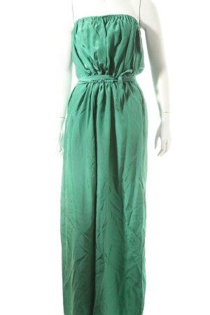 Attic & Barn Bandeau Dress forest green Gypsy style