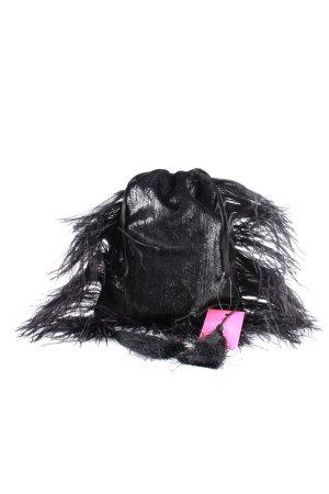 ATTICO Minitasche schwarz extravaganter Stil
