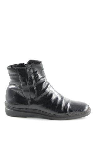 Attilio giusti leombruni Ankle Boots black wet-look