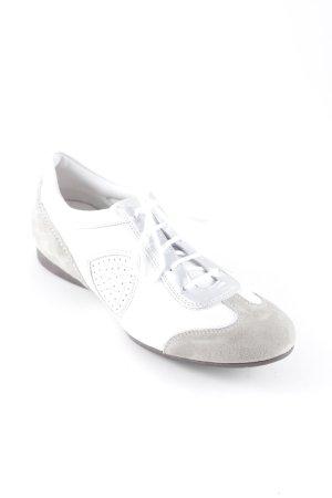 Attilio giusti leombruni Schlüpfschuhe weiß-hellbraun sportlicher Stil
