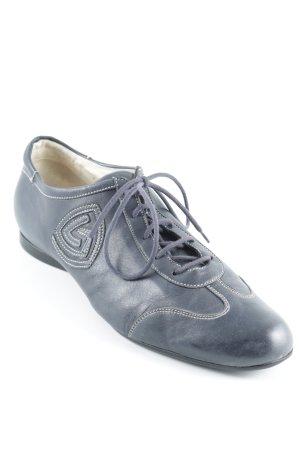 Attilio giusti leombruni Schnürschuhe dunkelblau sportlicher Stil