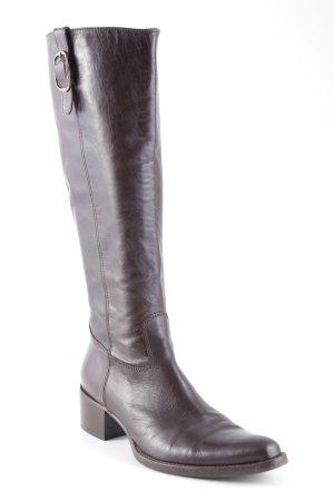Attilio giusti leombruni Boots western brun foncé style campagnard