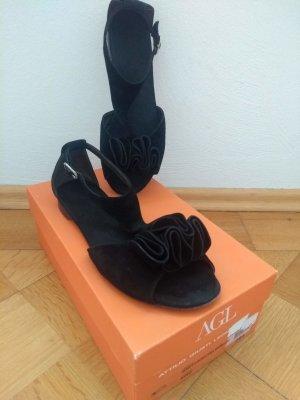 Attilio giusti leombruni Strapped Sandals black suede