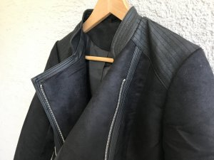 b.p.c. Bonprix Collection Faux Leather Jacket black polyurethane