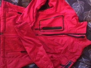Audi Softshell Jacke Rot XS