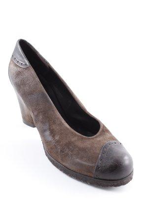 Audley Tacco alto marrone-marrone scuro elegante