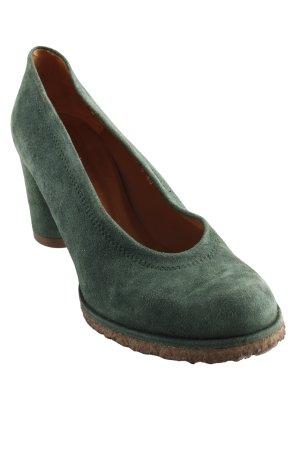 Audley High Heels waldgrün Elegant