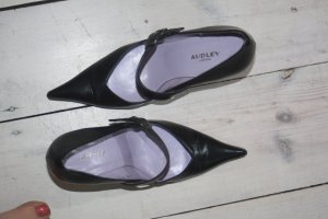 Audley Strapped pumps black-silver-colored