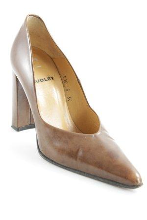 Audley Zapatos sin cordones coñac elegante