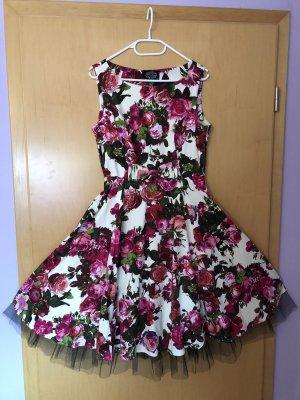 Audrey 50's Dress Kleid Petticoat Rockabilly H&R London Größe 40