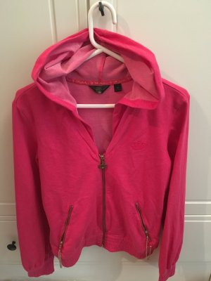 Auffällige Adidas Sweatjacke in Hot Pink