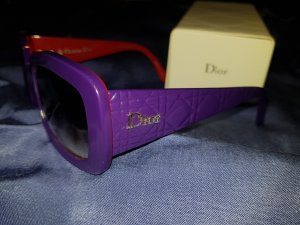 Auffällige Dior Brille