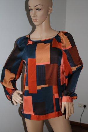 Atmosphere Slip-over blouse veelkleurig Polyester