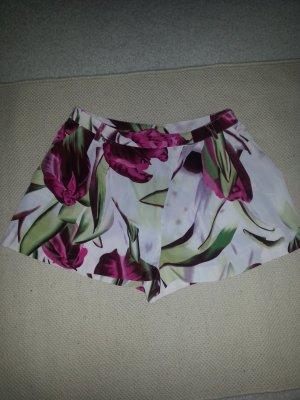 auffällige Shorts mit Blumenprint