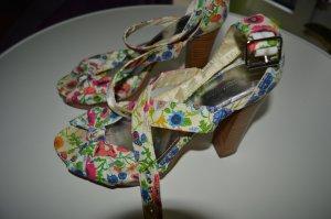 Auffällige Sommer Heels Gr. 40 von H&M Flower Power Top