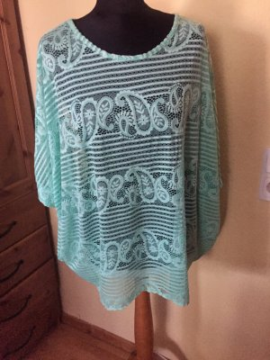 Made in Italy Long Cardigan mint