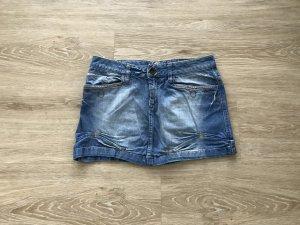 auffälliger Jeans Minirock von Mogul
