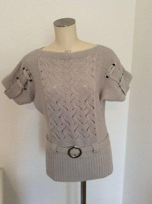 auffälliger Pullover mit vielen Details von Patrizia Dini