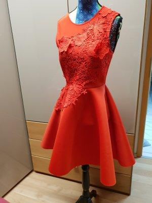 Asos Robe trapèze rouge