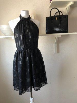 H&M Halterjurk zwart