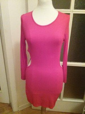 Auffälliges rotes Kleid mit Cutouts Gr. L von Asos