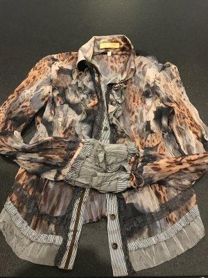 Auffallende Bluse der Marke Biba mit Top