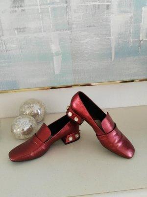 Auffallende Mango Schuhe in 38